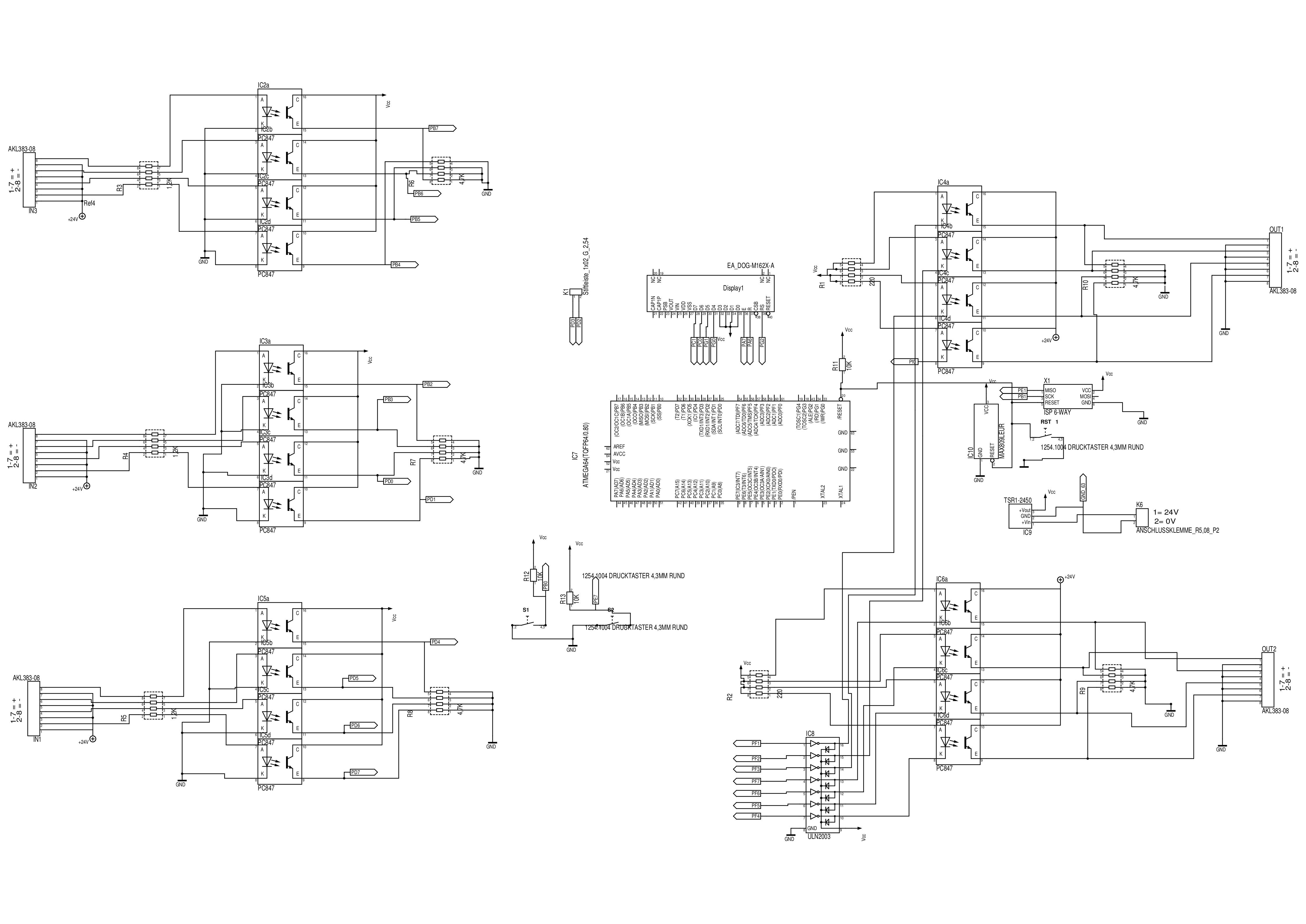 Schaltplan richtig zeichnen – Mikrocontroller.net