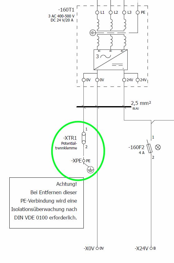 24V= mit PE verbunden? - Mikrocontroller.net