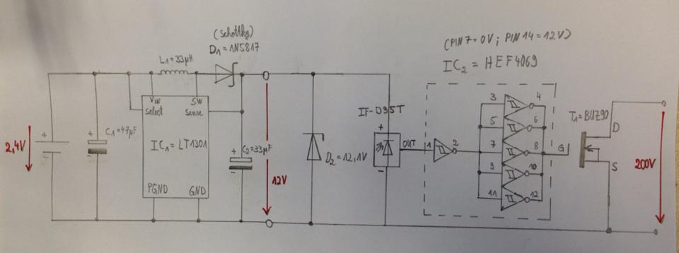 Ziemlich Einfacher Lichtleiter Schaltplan Zeitgenössisch - Die ...