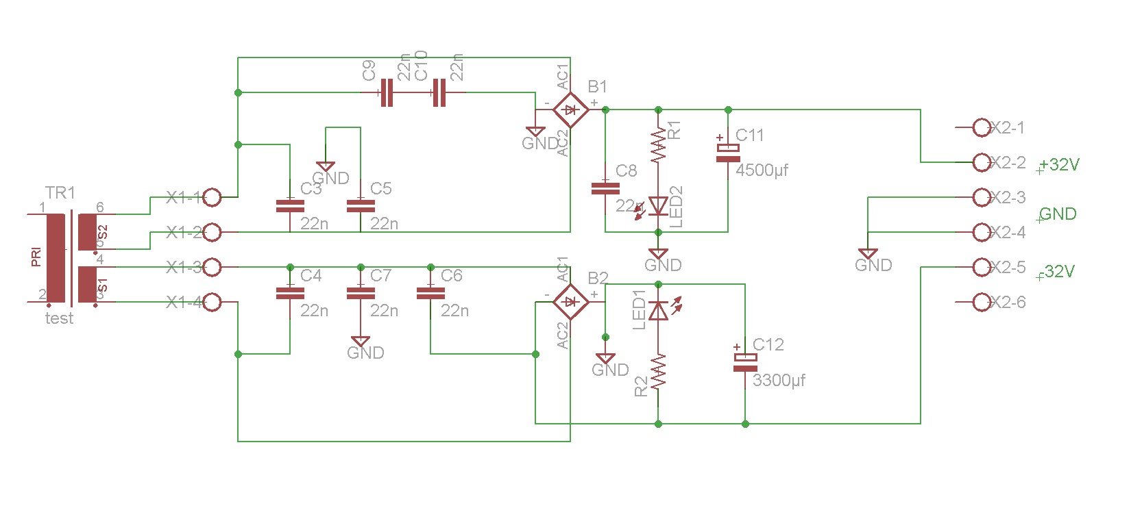Rinkerntrafo nach Gleichrichter Parallel schalten - Mikrocontroller.net