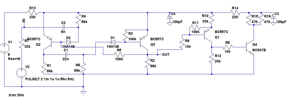 Beta, Gamma Detektor mit BPW 34 Photodioden, optimierte Schaltung ...