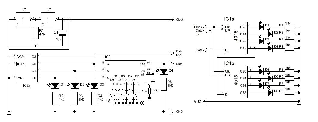 datenübertragung über Schieberegister - Mikrocontroller.net