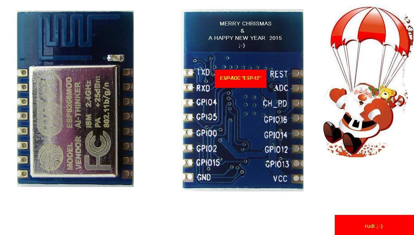 _ESP-ADC_ESP-12 Esp Mod Datasheet Pdf on