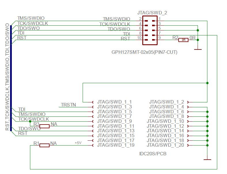 STM32F107 und 10-Pin JTAG - Mikrocontroller net