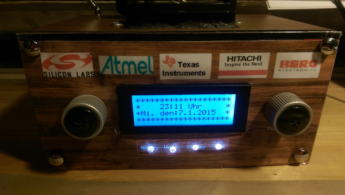 Si4735 RDS Radio UKW LW MW KW AM FM - TA TP AF GT TMC CT RT Pi PS