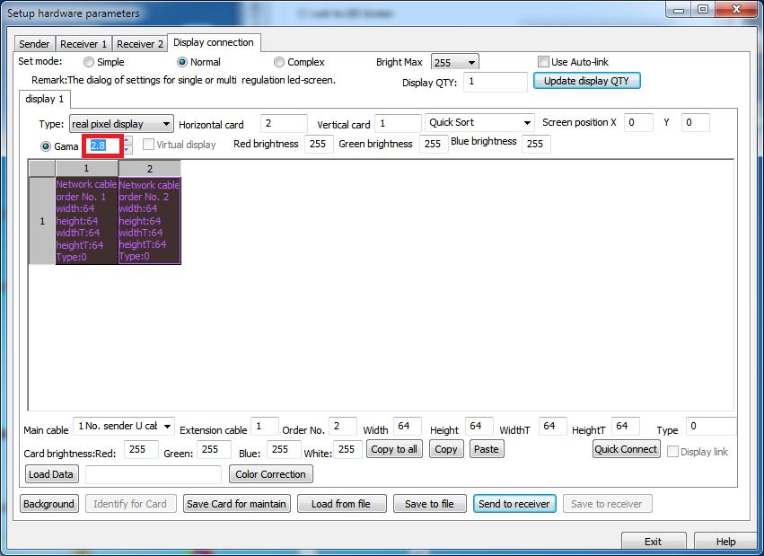 Ethernet-Protokoll für LED-Controller