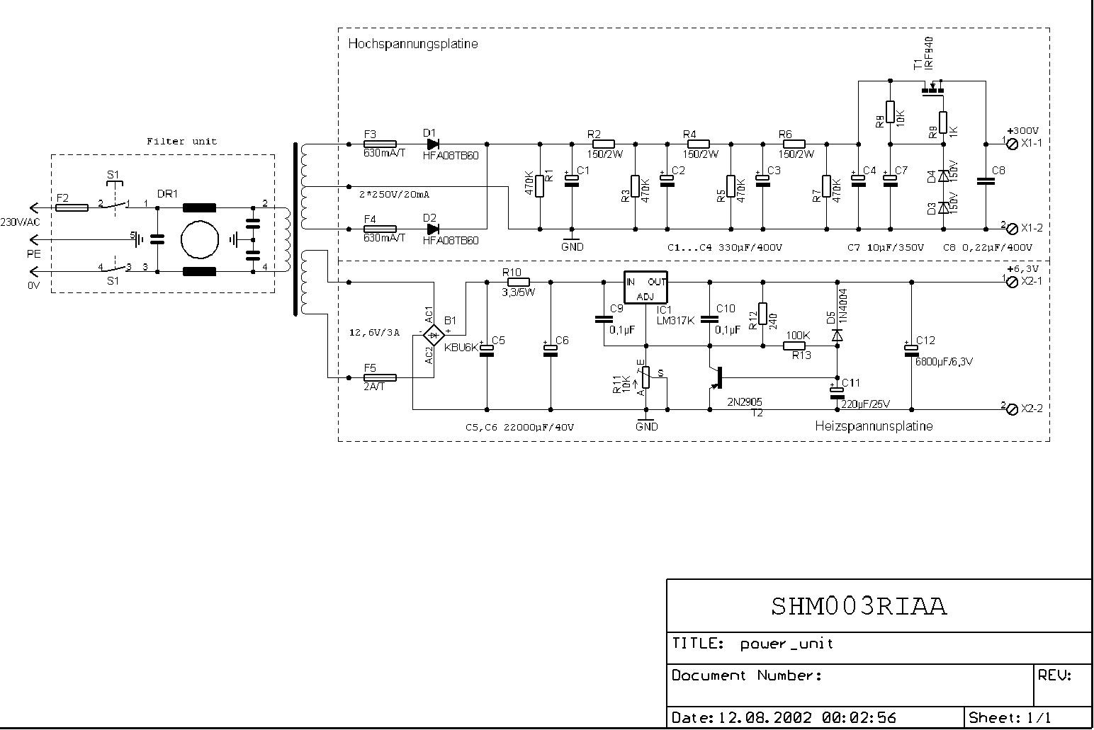 rc netzteil berechnen mikrocontrollernet