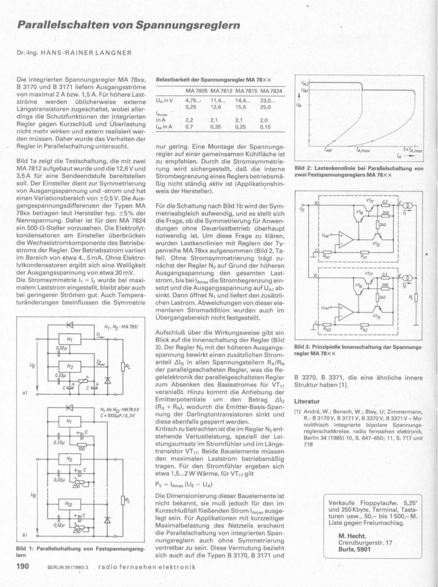Descielectronics Faq V307 Stand 672017 Index 39 Amplifier Circuit Diagram Seekiccom