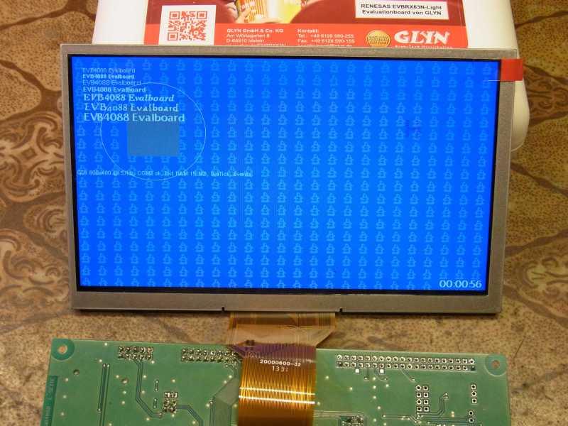 STM32F429 LTDC Nutzen, welche Displays sind möglich