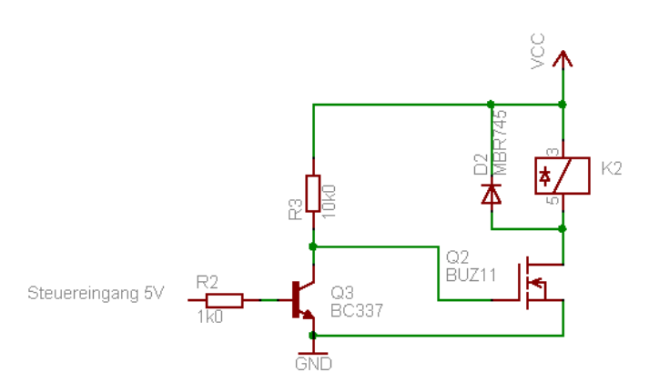 12V Relais gesucht, 8051 - Mikrocontroller.net