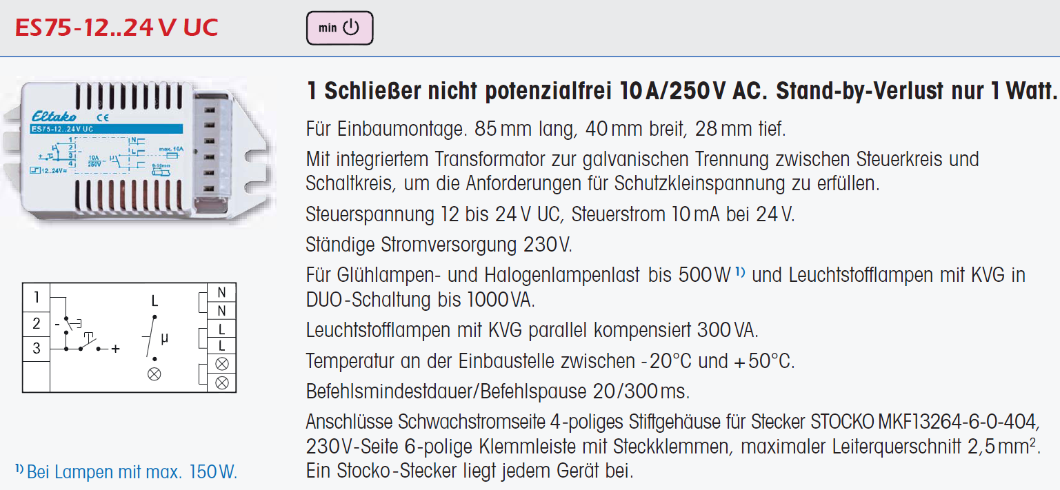 Schaltsymbole Eltako Relais - Mikrocontroller.net