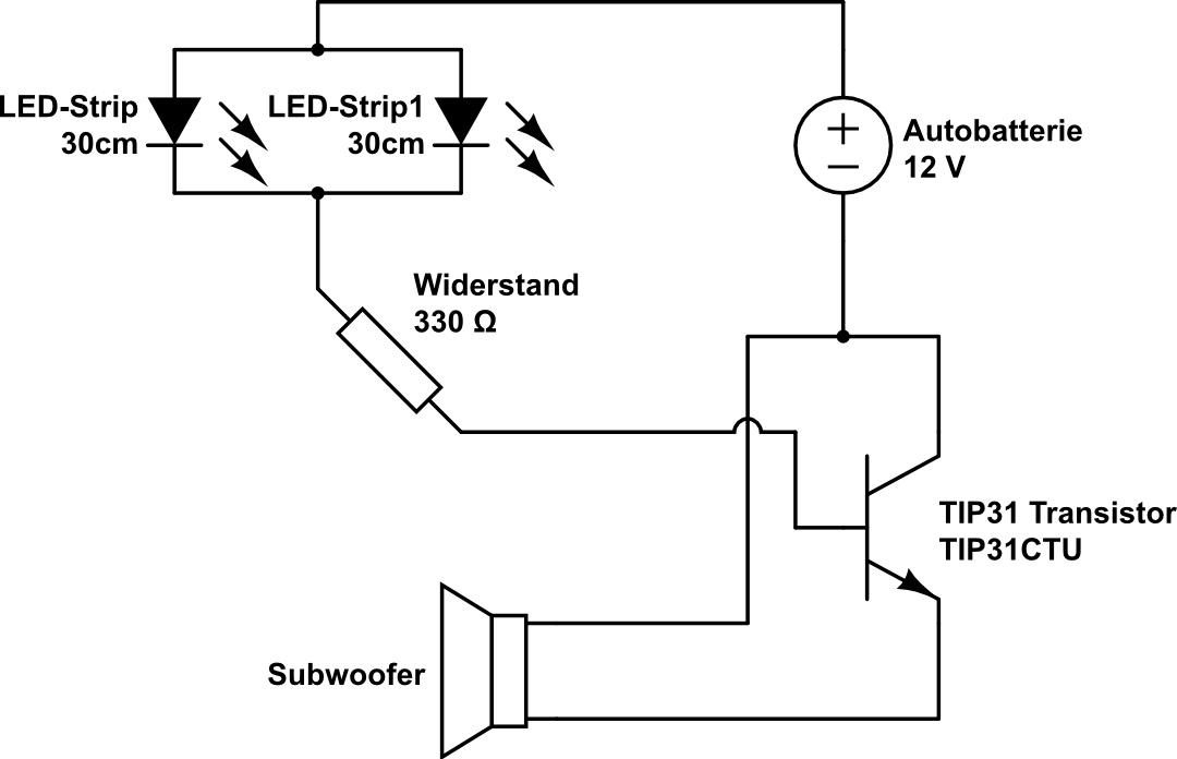 Aktive Musik Beleuchtung (Problem) - Mikrocontroller.net