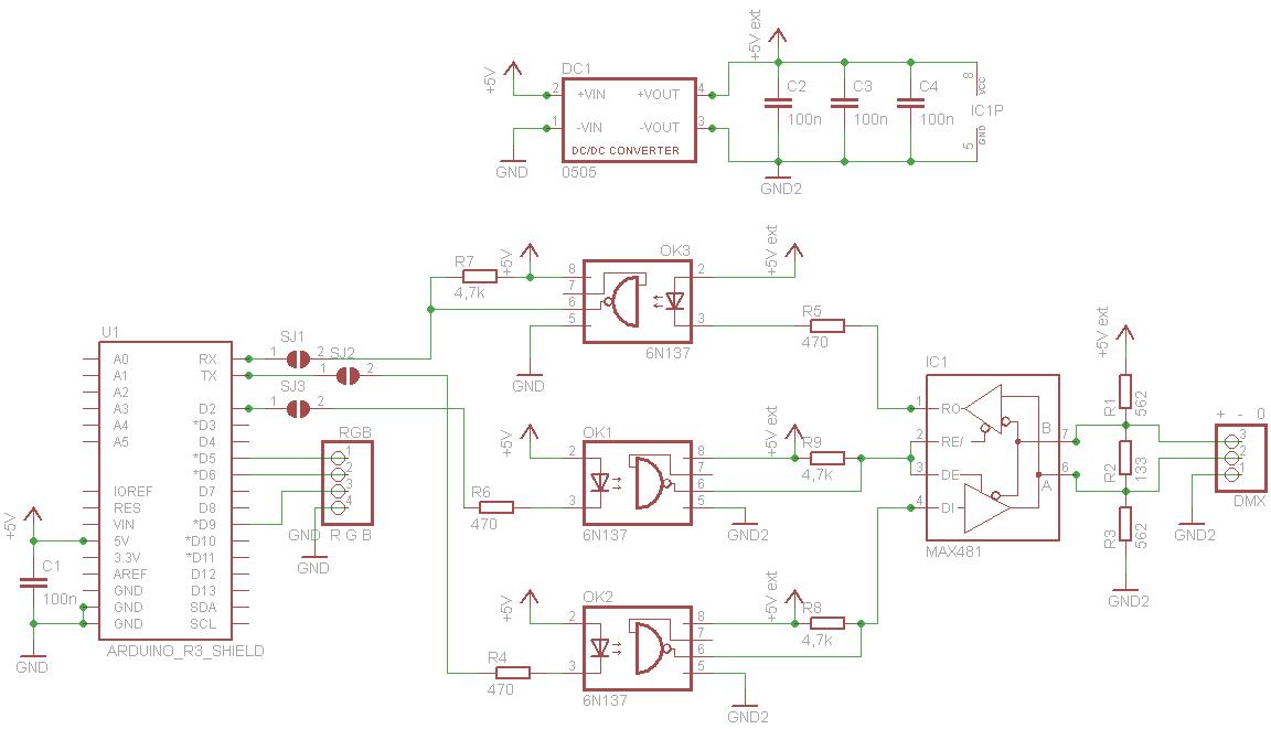 Fantastisch Dmx Schaltplansensor Ideen - Elektrische Schaltplan ...