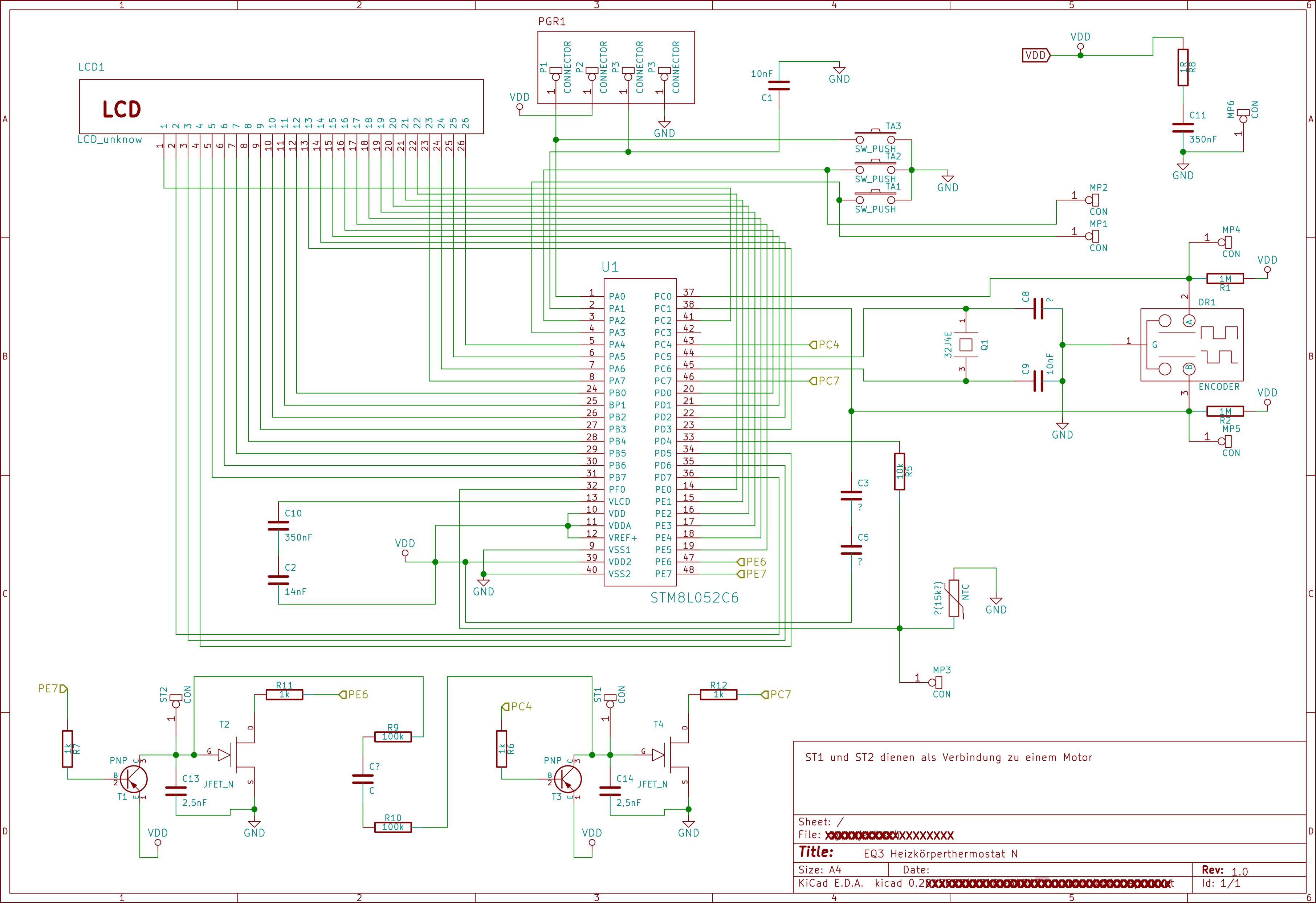 EQ 3N Heizkörperthermostat Schaltplan - Mikrocontroller.net