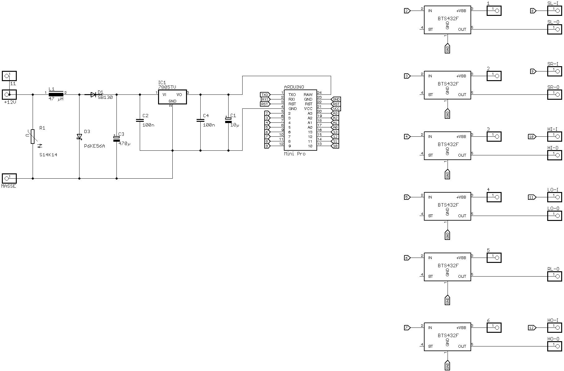 Arduino am 12V Netz vom Auto - Mikrocontroller.net