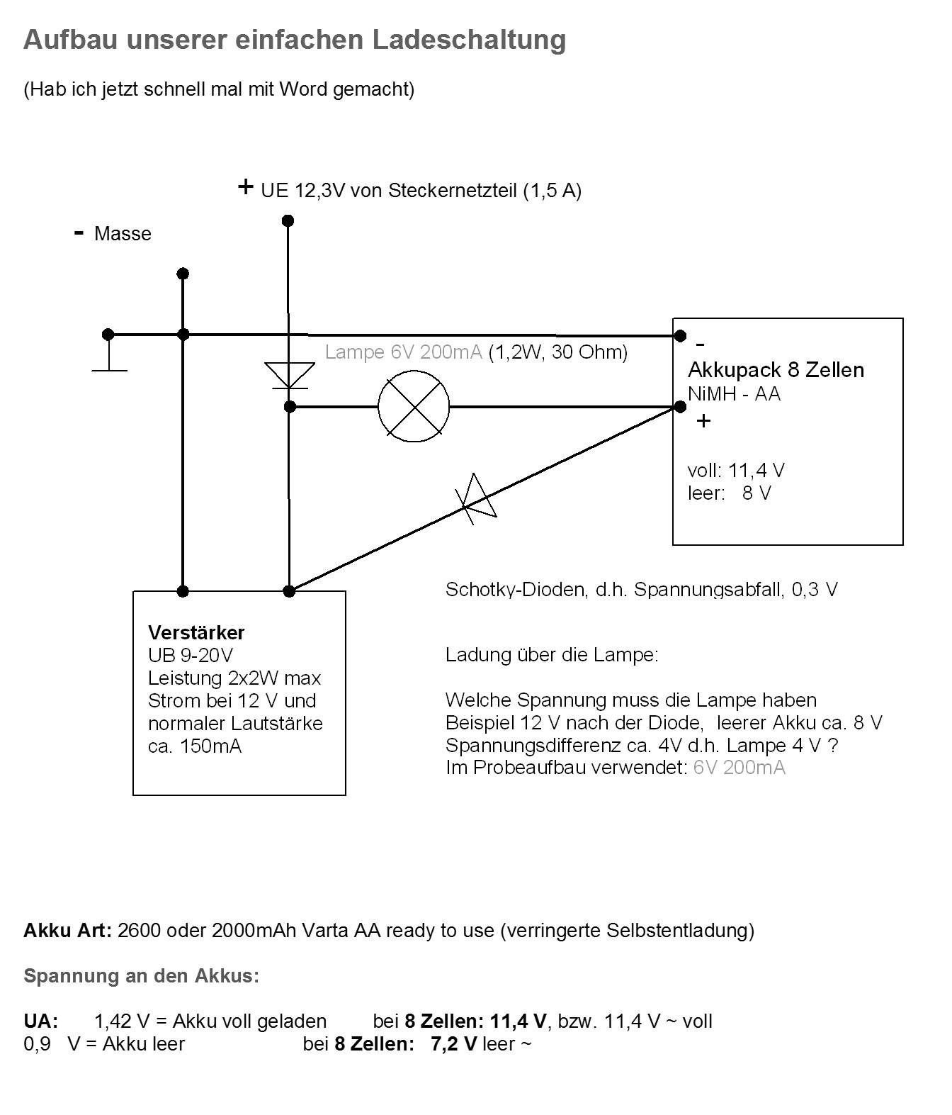 Fein Einfache Schaltpläne Bilder - Schaltplan Serie Circuit ...
