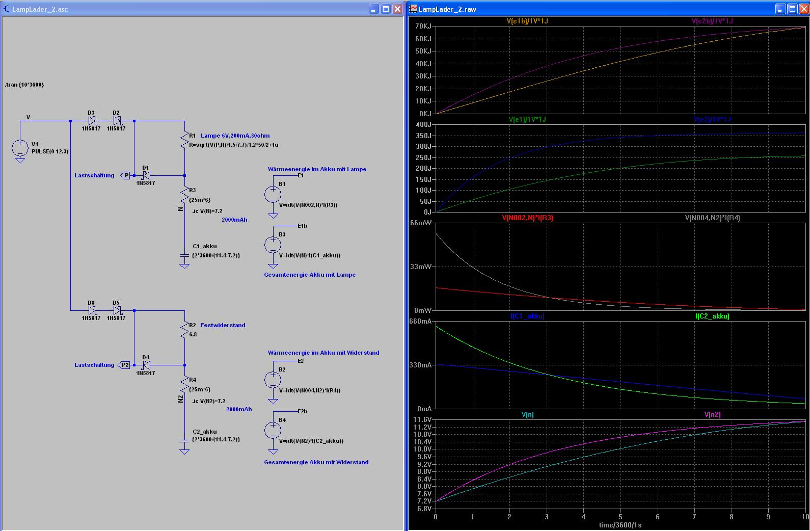 Sehr einfache Ladeschaltung für NIMH-Akkus – geht das so ...