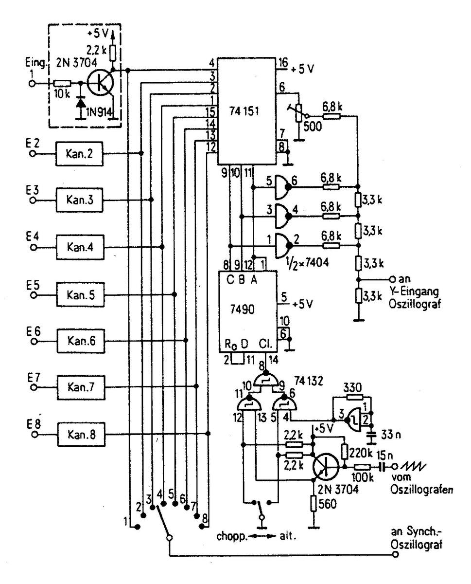 Mehrkanal-Schalter für das Oszi - Mikrocontroller.net