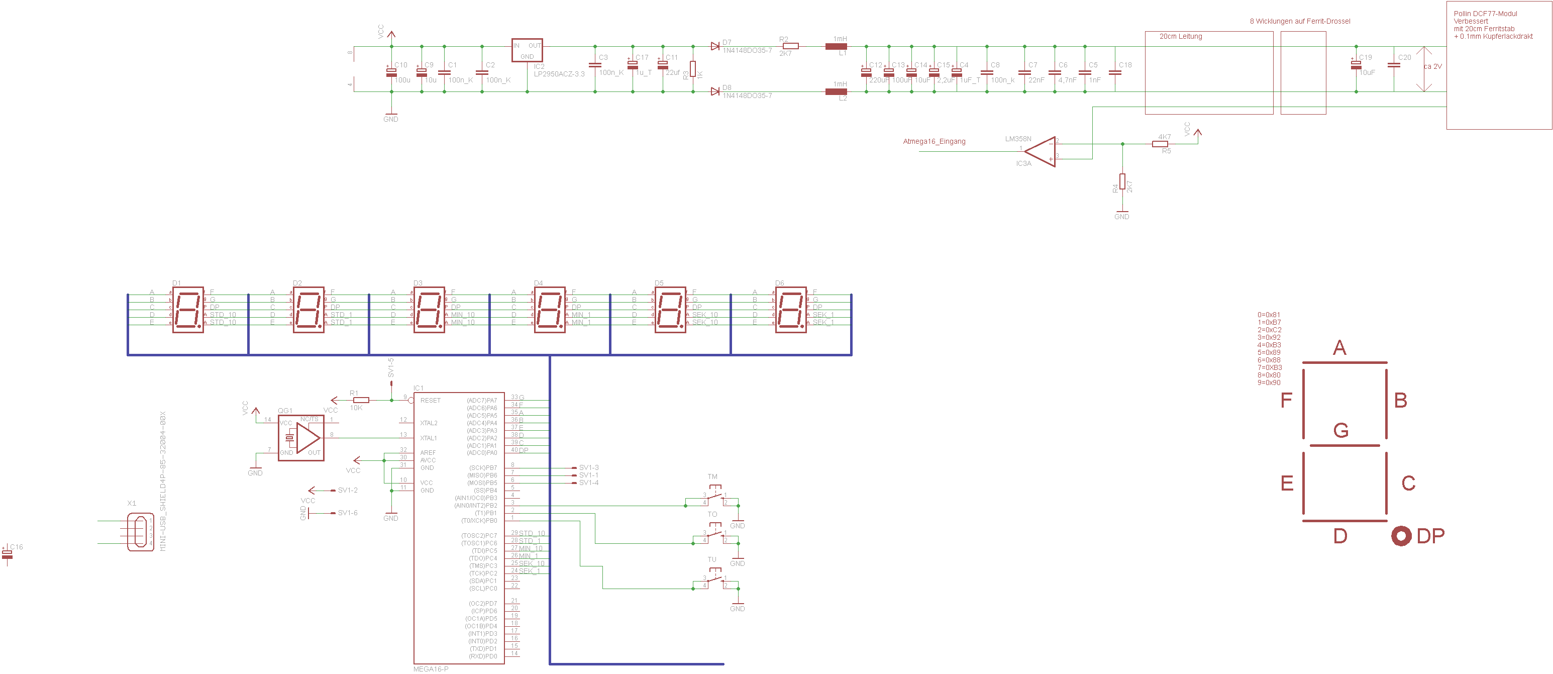 DCF77-Modul Empfang weiter verbessern. - Mikrocontroller.net