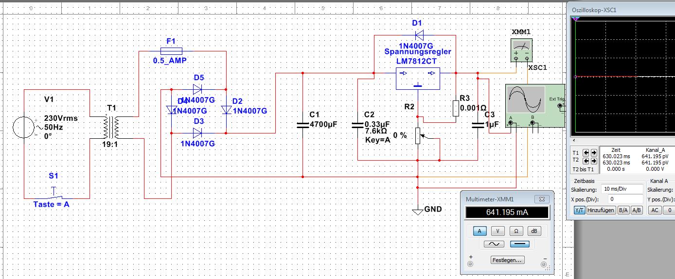 Netzteil mit 640mA (Selbstbau) KNX - Mikrocontroller.net