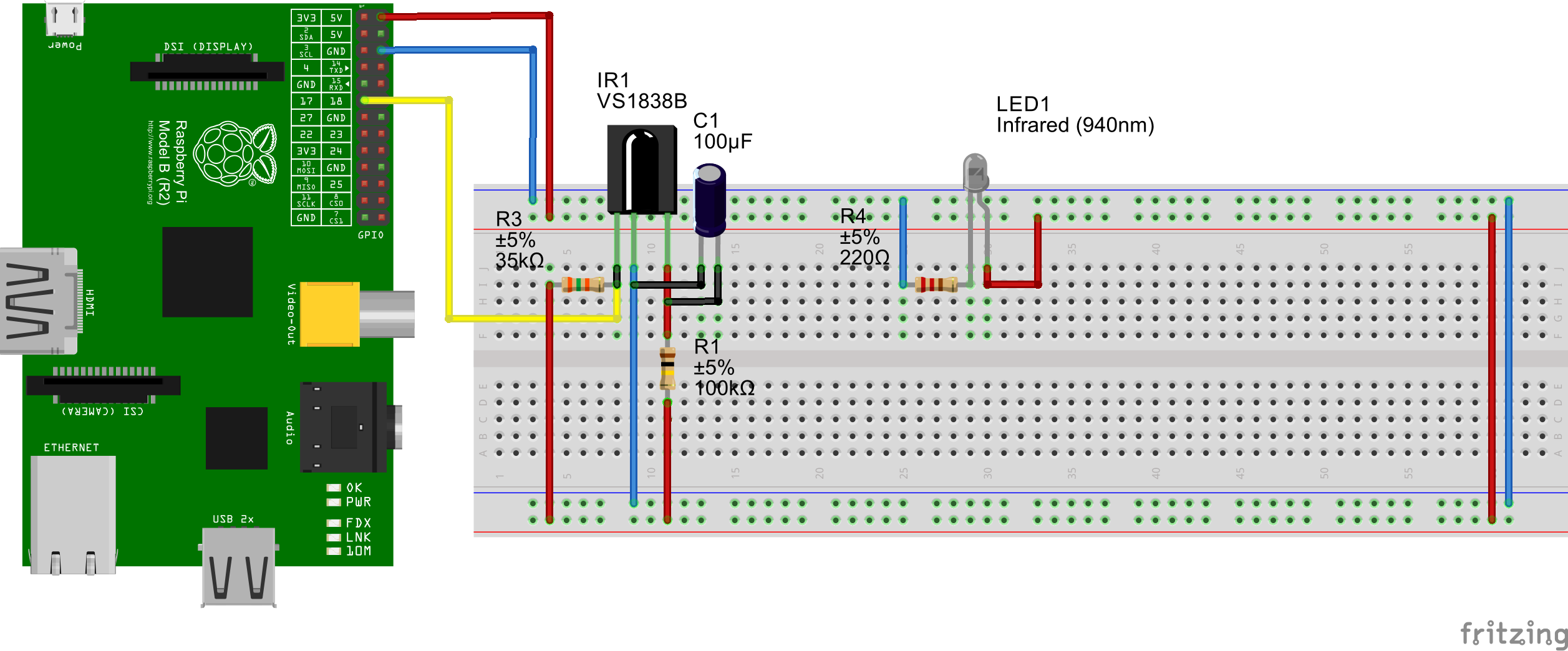 problem mit vs1838b infrared receiver