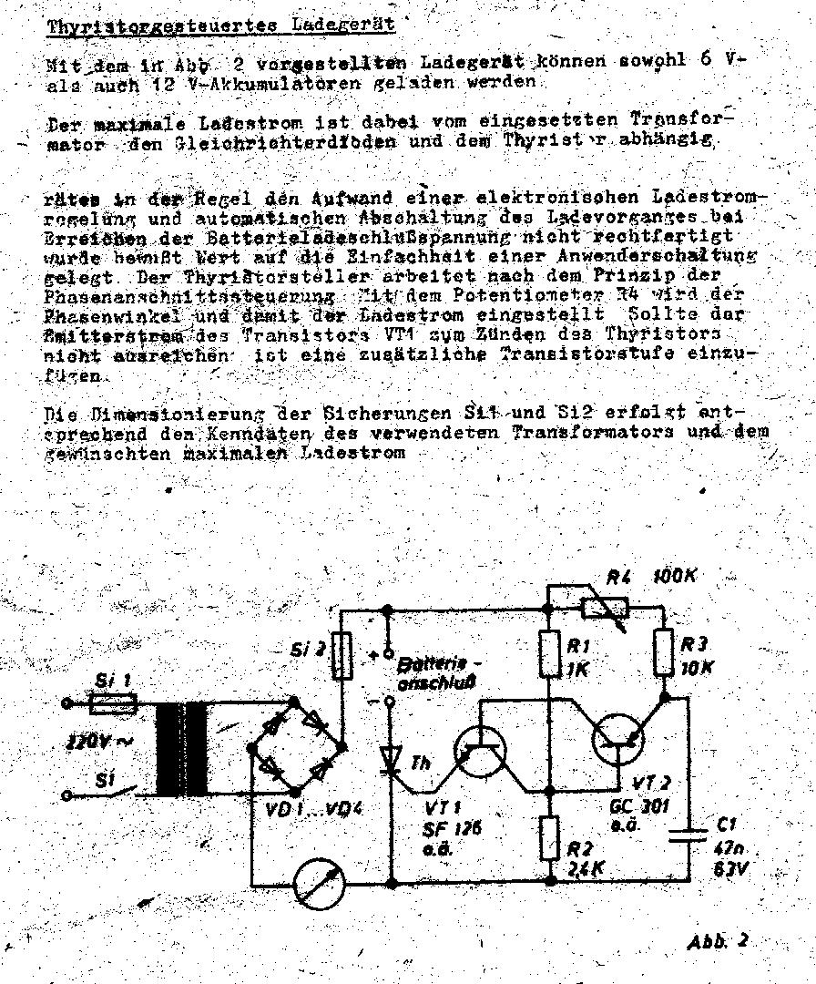 Einfache Ladeschaltung für Bleiakku 12V 80Ah - Mikrocontroller.net