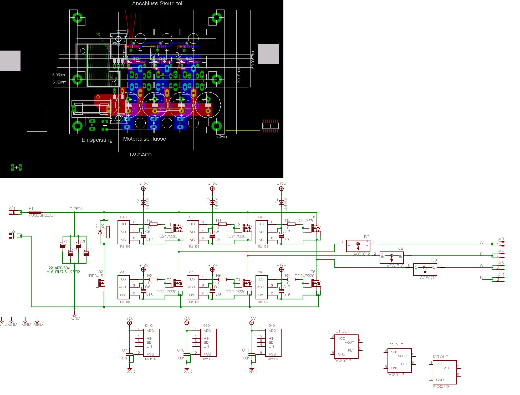 Niederspannungsmotor-Haken