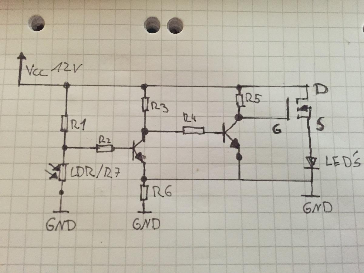 Fantastisch Einfache Lichtschaltung Bilder - Schaltplan Serie ...