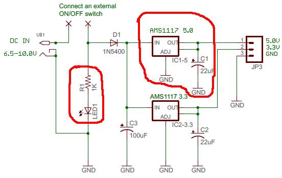 arduino buck module mit einem ams selbst