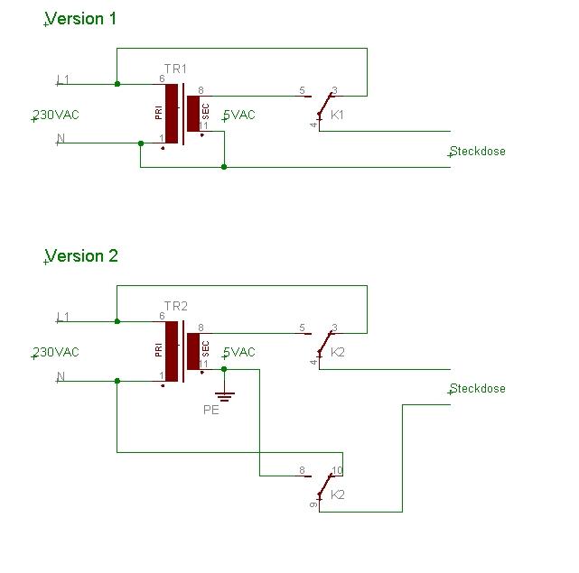 Transformator und Erdung - Mikrocontroller.net