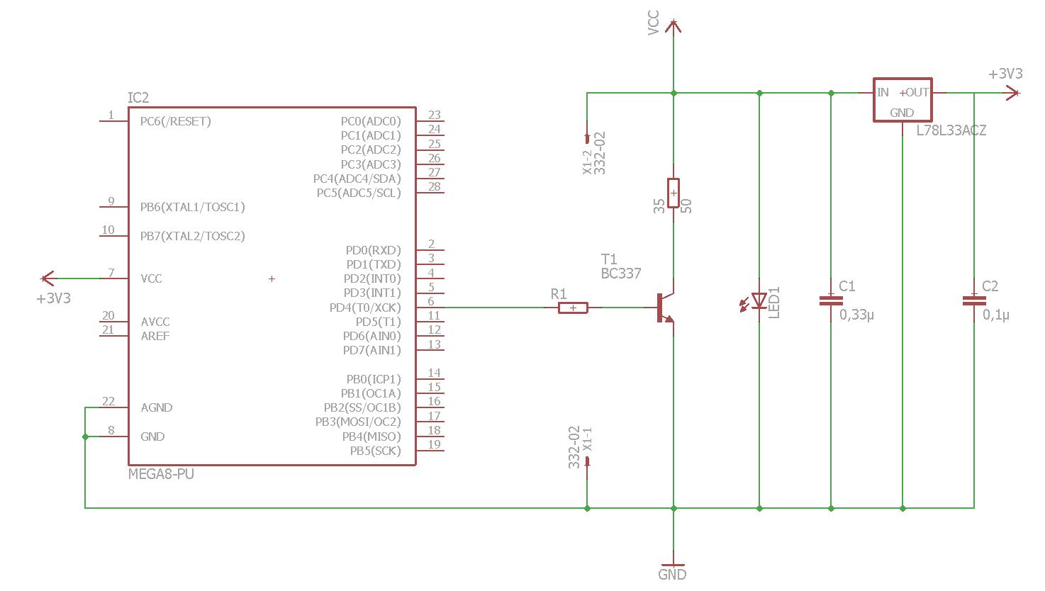 Dimmer Strom Sparen konstantstrom mit pwm zum led dimmen mikrocontroller