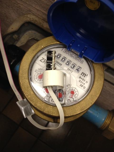 Wasserzähler erfassen - Mikrocontroller.net