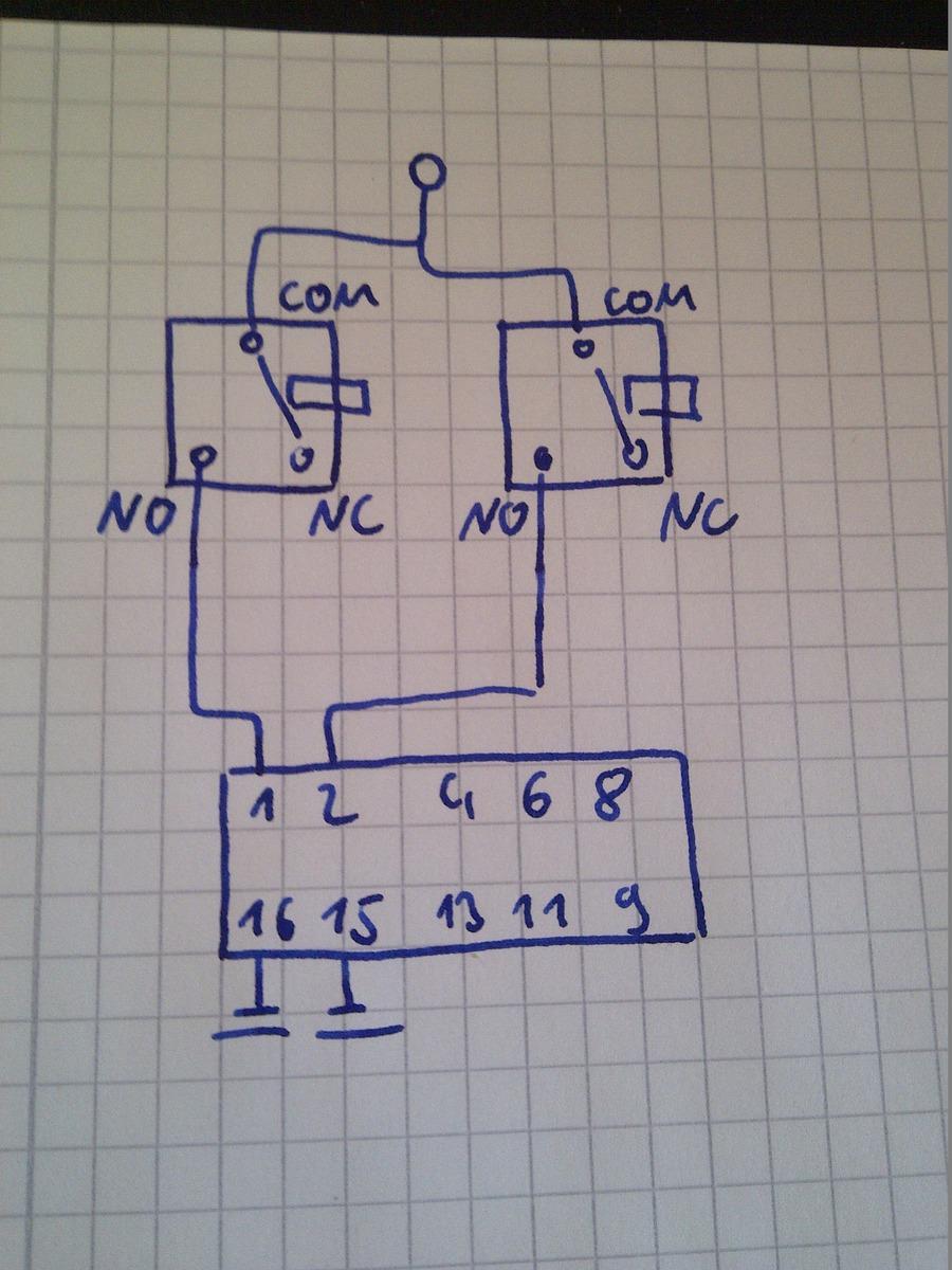 CMOS Treiberschaltung für Relais - Mikrocontroller.net