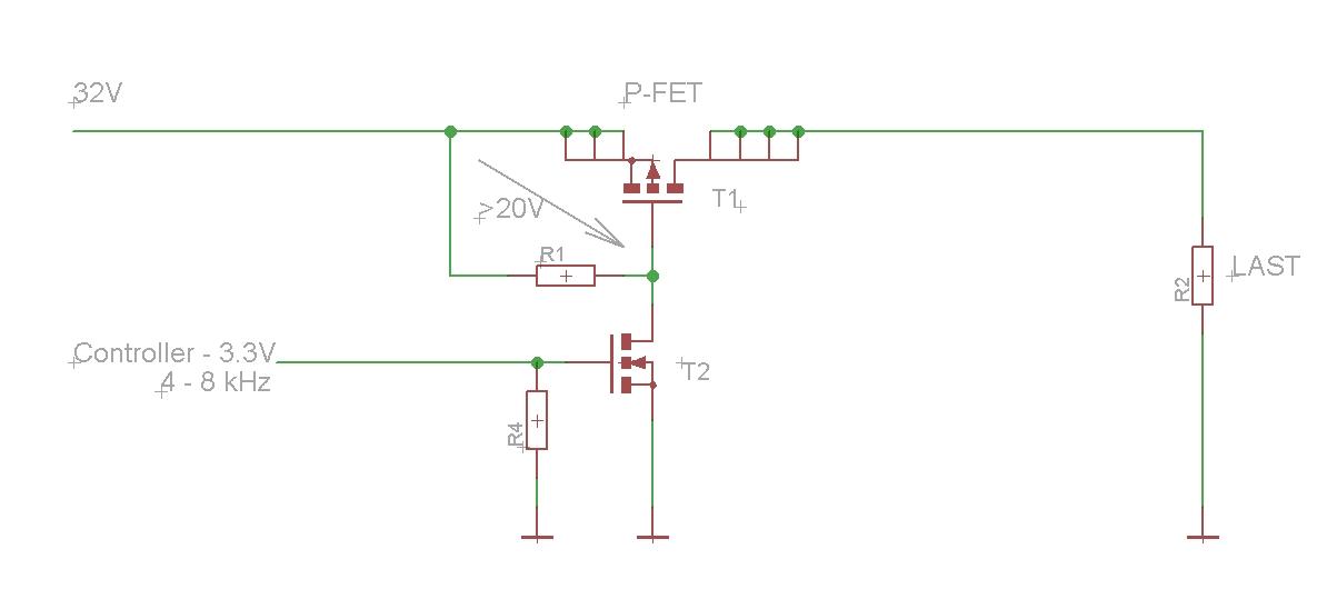 High Side P-Kanal bei 32V schalten - Mikrocontroller.net