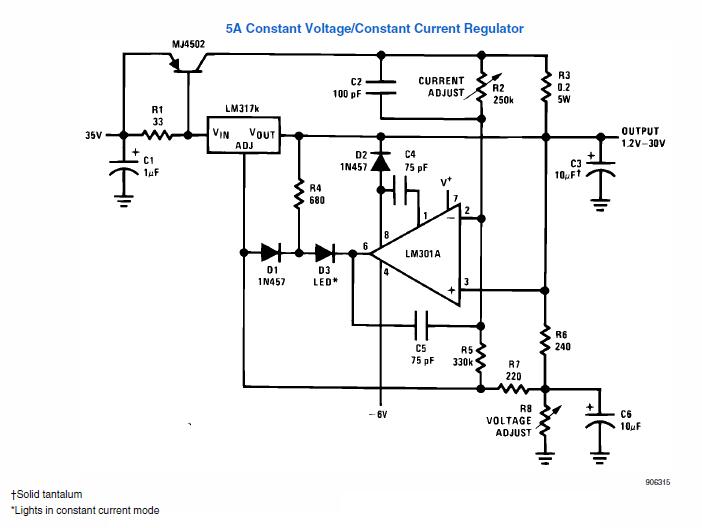 Einfaches Quot Labornetzteil Quot Selber Bauen Mikrocontroller Net