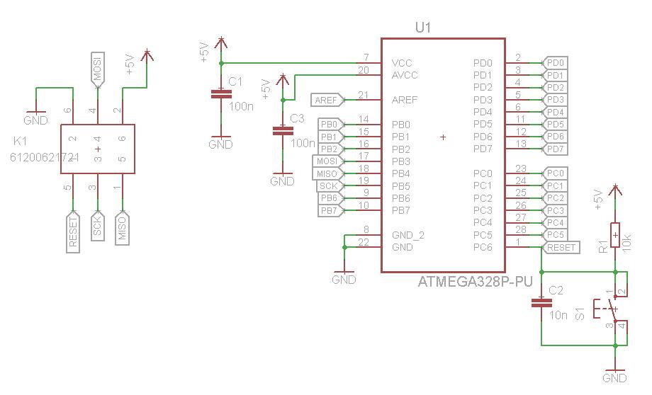 Programmierung von Atmega328 mit mySmartUSB light nicht möglich ...