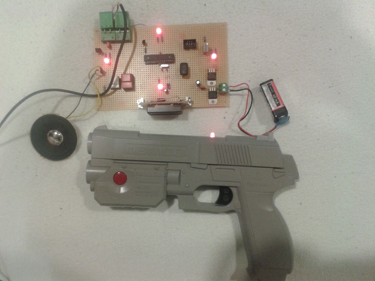 ir lasertag mit atmega8 basteln jenseits der konsolen circuit board. Black Bedroom Furniture Sets. Home Design Ideas