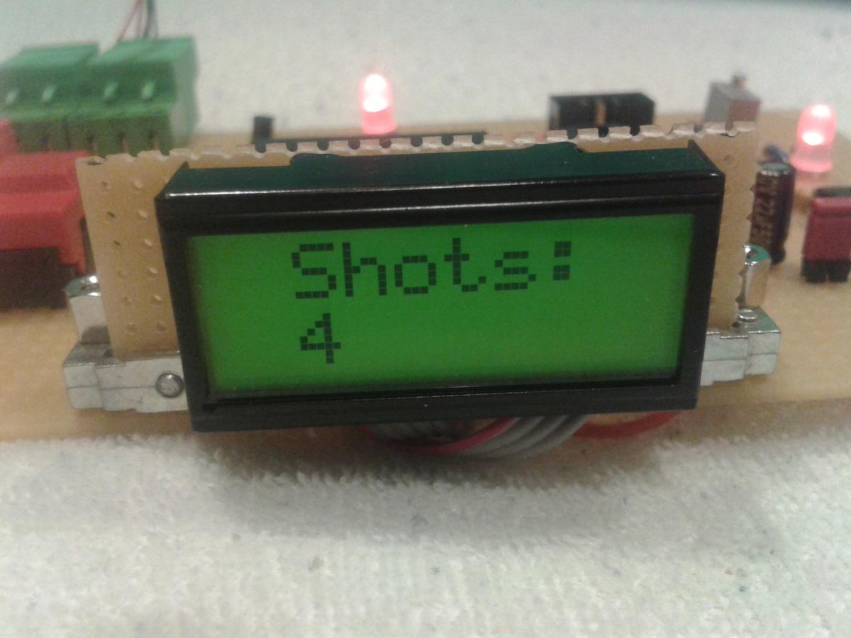 ir lasertag mit atmega8 - mikrocontroller