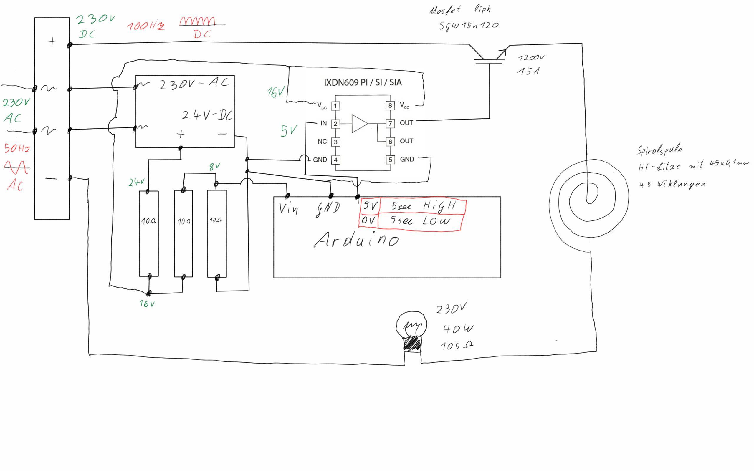 induktionsherd selber bauen mit igbt 39 s problem. Black Bedroom Furniture Sets. Home Design Ideas