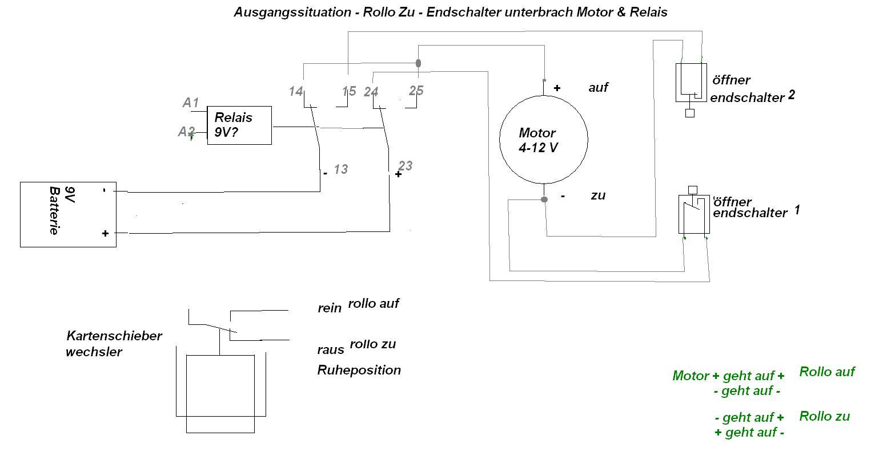 Großzügig Motor Relaisschaltung Galerie - Der Schaltplan - greigo.com