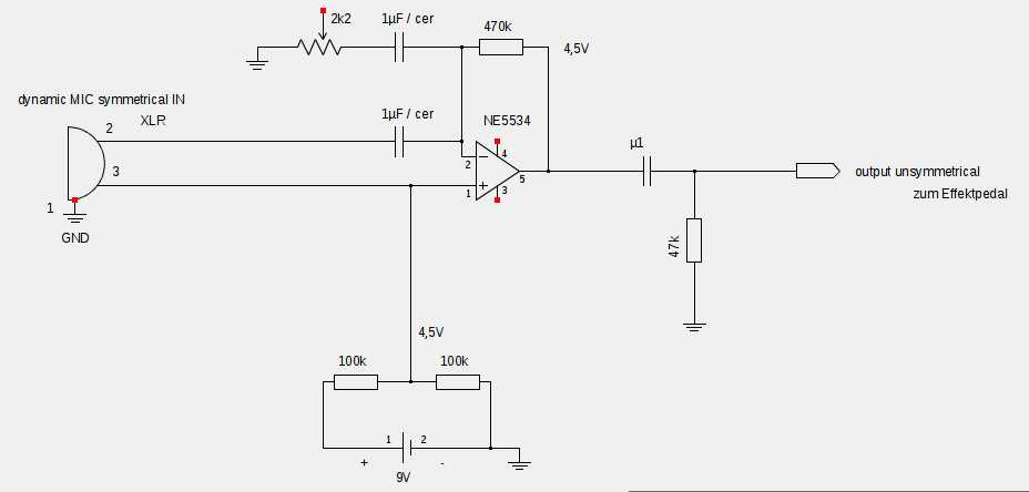 symmetrischer Mikrofon Preamp - Mikrocontroller.net
