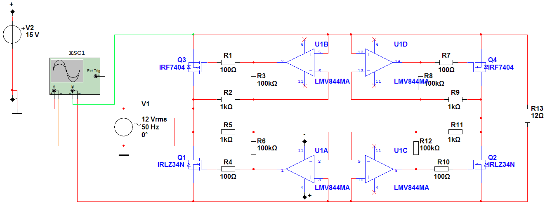 MOSFET-Gleichrichter mit OPV - Mikrocontroller.net