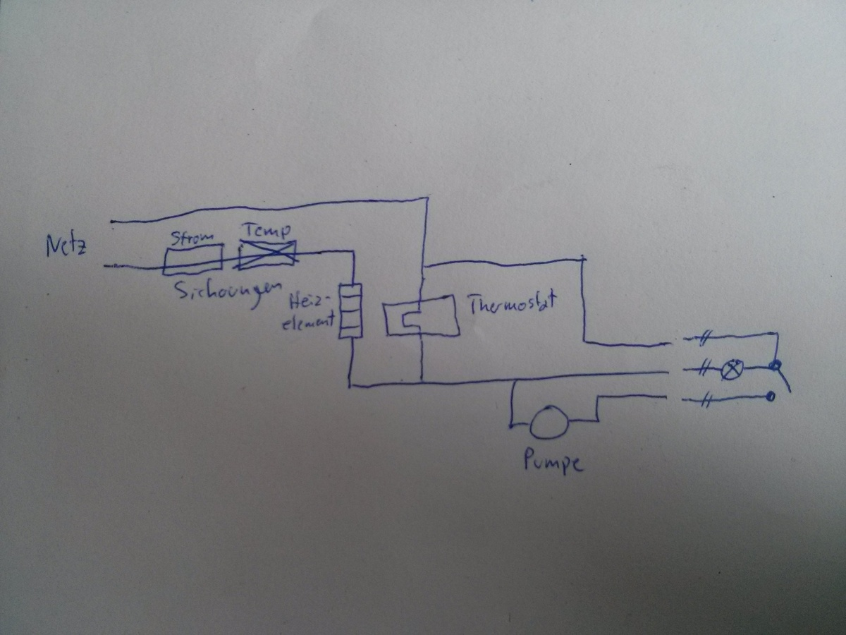 Gemütlich Thermostat Schaltplan Mit Bildlichen Fotos - Der ...