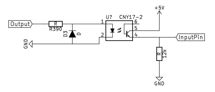 eingangspin zum arduino absichern