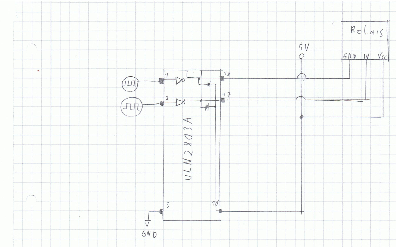 Relais mit ULN2803a Transistor Schaltung betreiben (Raspberry Pi 2 ...