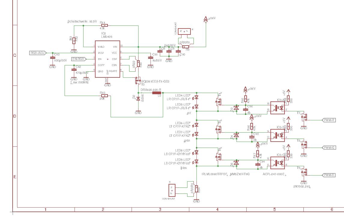 Dimmen Von Leds Mit Stromquelle Parallelen Fet Konstantstromquelle Fuer Power Led Mikrocontrollernet Preview Image For Bildschirmfoto Vom 2015 10 13 21 43 46