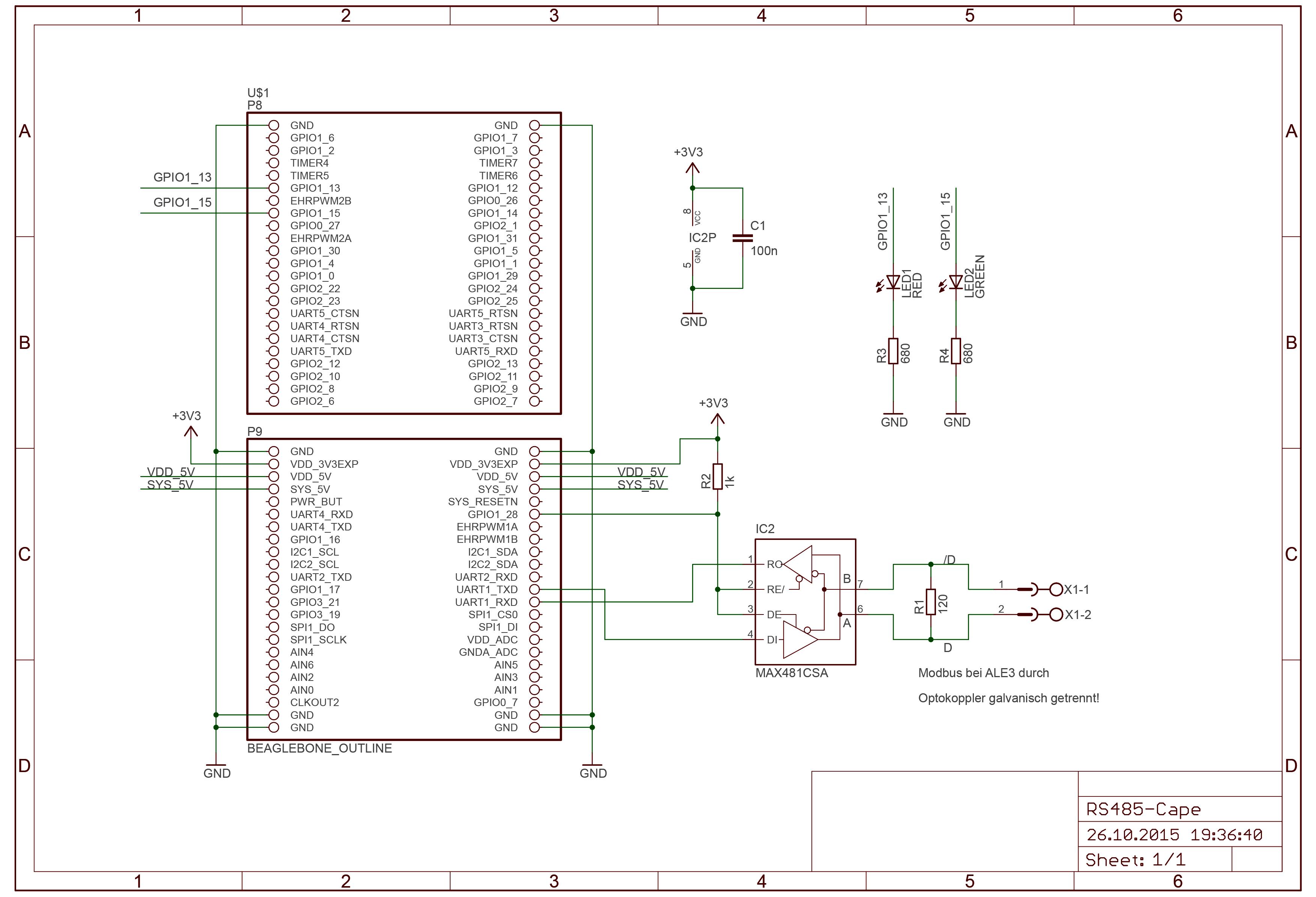 Pymodbus mit Beaglebone Black - Mikrocontroller net