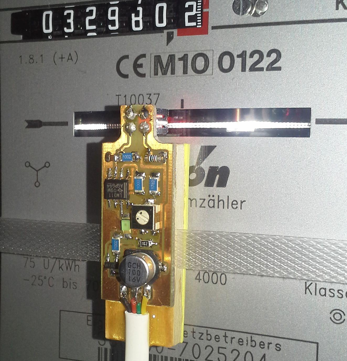 Fabulous RaspPi: Datenlogger für (analoge) Stromzähler - Mikrocontroller.net JW64