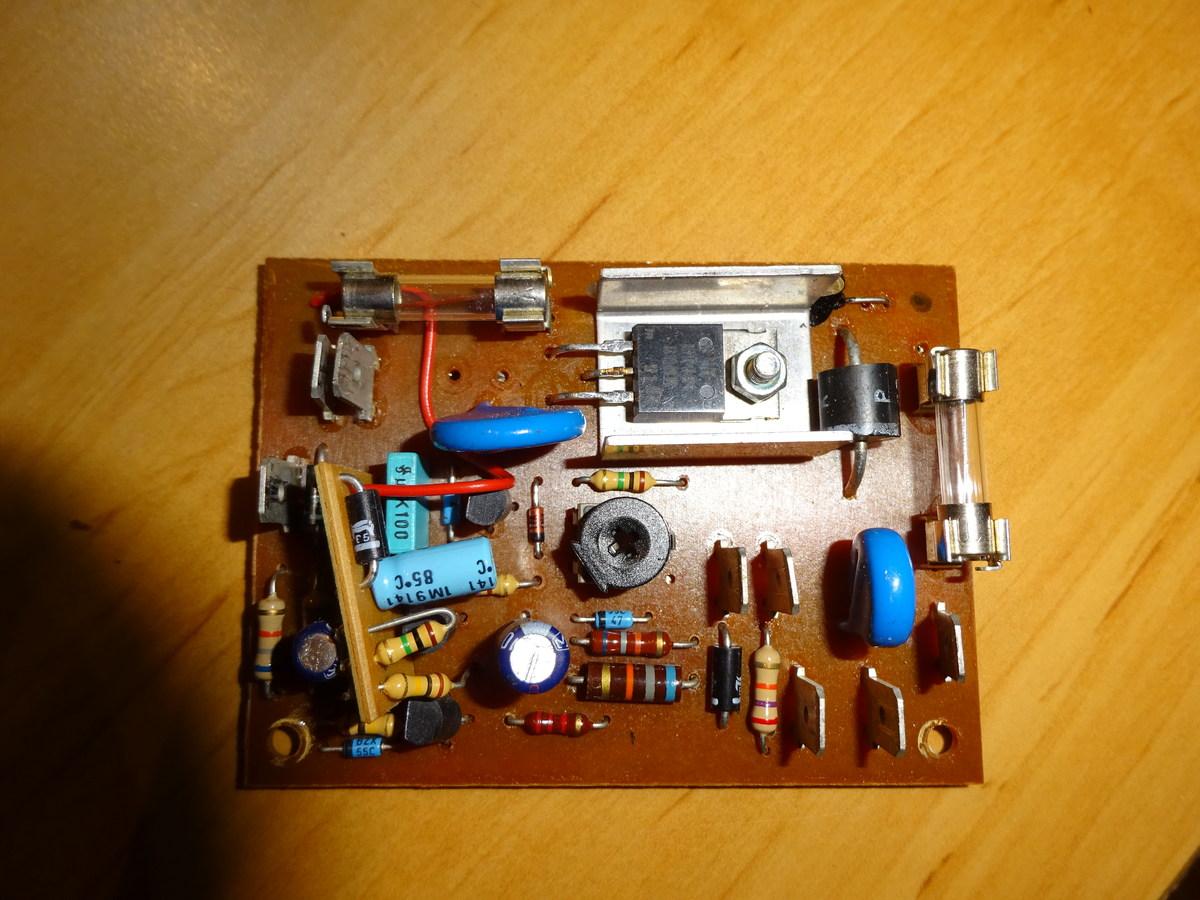 elektronische bremse kreissäge - bauteil(e) defekt - mikrocontroller