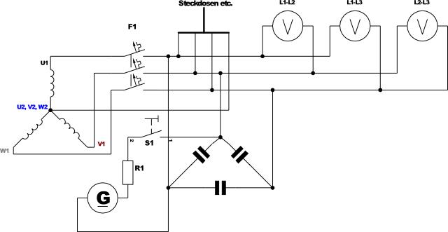 Fantastisch Generator Schaltplan Bilder - Elektrische ...